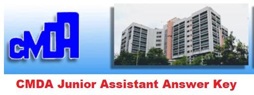 CMDA Junior Assistant Answer Key